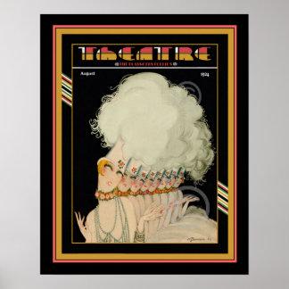 Kunst-Deko-Theater-Zeitschriften-Plakat 16 x 20 Poster