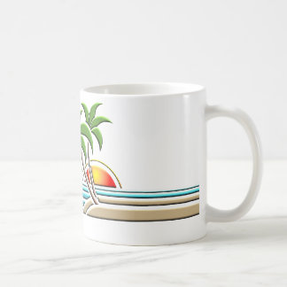 Kunst-DekoPalme-Tasse