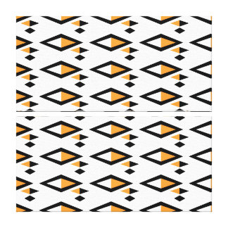 Kunst Dreiecke zwei Tons Leinwanddruck
