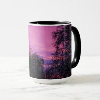 Kunst durch Gott ein herrlicher Sonnenaufgang Tasse