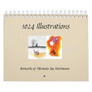 Kunst durch Miranda Sue Hartmann Kalender