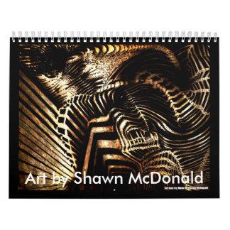 Kunst durch Shawn McDonald Abreißkalender
