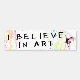 Art Fairy: I Believe In Art Watercolor