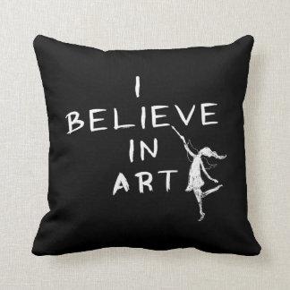 Art Fairy: I Believe In Art (Black)