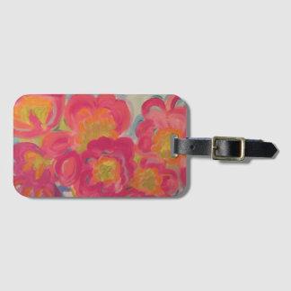 Kunst-Gepäckanhänger mit Visitenkarte Gepäckanhänger