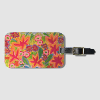 Kunst-Gepäckanhänger mit Visitenkarte Kofferanhänger