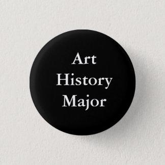 Kunst-Geschichtsmajor Knopf Runder Button 3,2 Cm