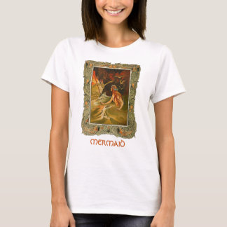 Kunst-Illustrationst-shirt der Vintagen T-Shirt