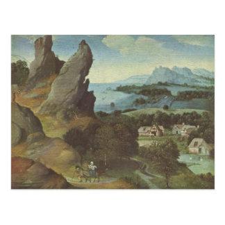 Kunst Joachim Patinir Postkarte