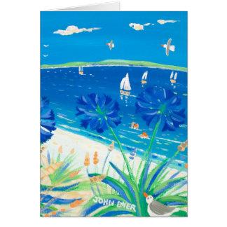 Kunst-Karte: Ein Bad, Pentle Bucht haben Karte