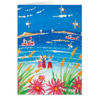 Kunst-Karte: Scilly Tage. Inseln von Scilly Karte