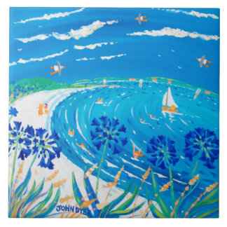 Kunst-Keramik-Fliese: John-Farbstoff Scilly Fliese