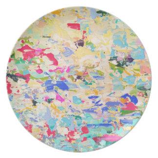 Kunst-Melamin-Teller Carolyn Joe Essteller