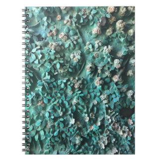 Kunst mit Gaudi Anmerkungsbuch Spiral Notizblock