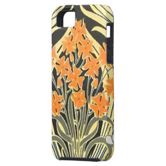 Kunst Nouveau Blumen-Drama-Case-Mate-Fall iPhone 5 Etuis