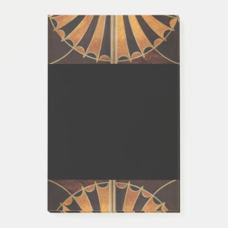 Kunst Nouveau, Kunst-Deko, Vintage, multi hölzerne Post-it Klebezettel