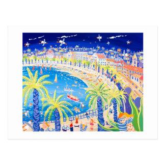 Kunst-Postkarte: Franzosen küssen, Nizza Postkarte
