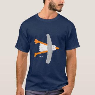 Kunst-T - Shirt: Klassische Seemöwe T-Shirt