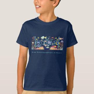 Kunst-T-Shirt: Musée Océanographique De Monaco. T-Shirt