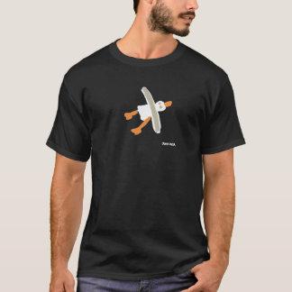 Kunst-T - Shirt: Seemöwe-Fronten-und T-Shirt