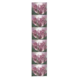 Kunst-Tabellen-Läufer der Papageien-Tulpe-2 Kurzer Tischläufer