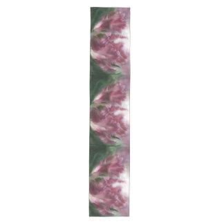 Kunst-Tabellen-Läufer des Papageien-Tulip1 Mittelgroßer Tischläufer