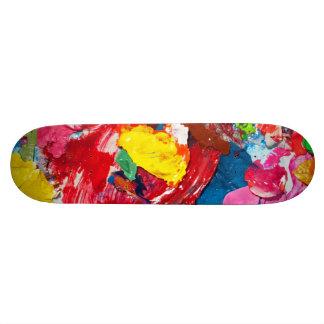 Kunst-Versorgungen 21,6 Cm Skateboard Deck