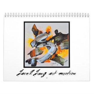Kunst von Jacek Jung Wandkalender