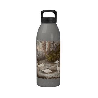 Kunst-Wasserflaschen Von Wrights