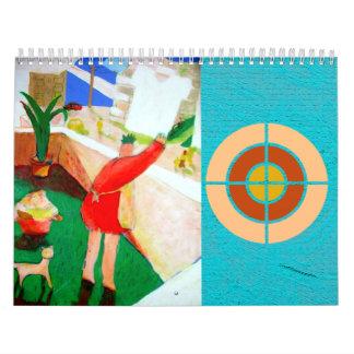 Kunstjapan-Illustration Abreißkalender