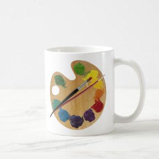 Künstler ` s Paletten-Farbrad Tasse