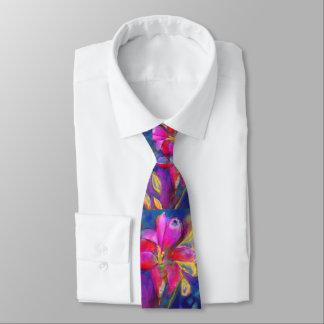 Künstlerische Abenteuerfreesia-Krawatte Krawatte