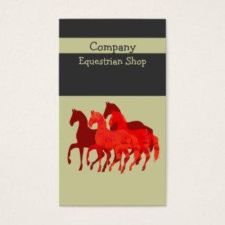 Künstlerische einfache   kundenspezifische visitenkarte