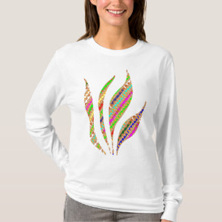 Künstlerische FEUER-FLAMME behalten das geistige T-Shirt