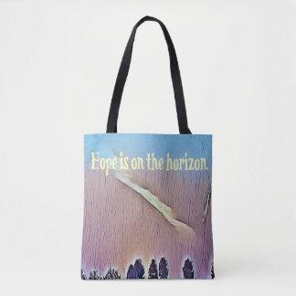 Künstlerische Landschaftshoffnung auf Tasche