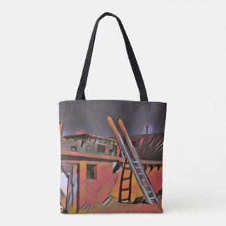 Künstlerische SüdwestNew Mexiko-Navajo-Wohnung Tasche