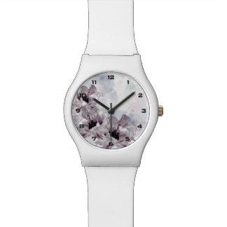 Künstlerische Uhr der Blumen-May28th