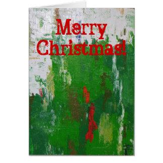 Künstlerische Weihnachtskarte! Karte