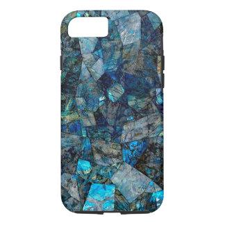Künstlerischer abstrakter Labradorit-Edelsteine iPhone 8/7 Hülle
