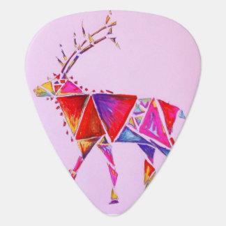 Künstlerischer pic Gitarre der Elche Plektrum