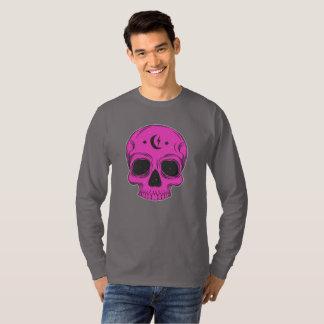 Künstlerischer Schädel (Rosa) T-Shirt
