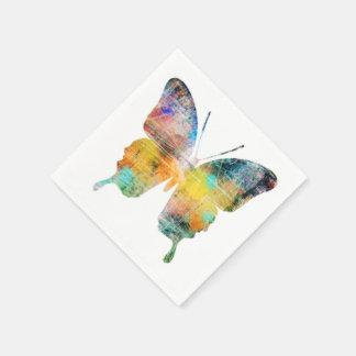 Künstlerischer Schmetterling Serviette