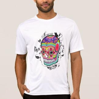 Künstlerischer Suagr Schädel-Tag der toten T-Shirt