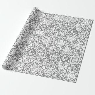 Künstlerisches Blumenhochzeits-Spitze-Packpapier Geschenkpapier