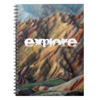 künstlerisches elegantes Buch der schönen Natur