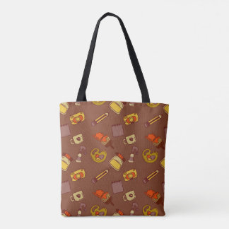 Künstlerisches Muster Tasche