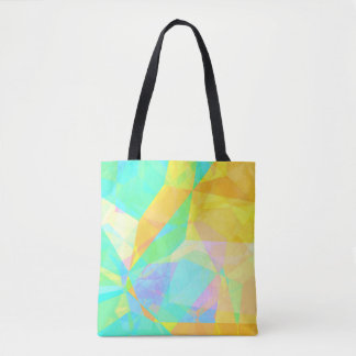 Künstlerisches Polygon, das abstrakte Tasche