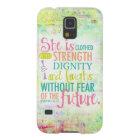 Künstlerisches Sprichwort-31:25 Galaxy S5 Cover