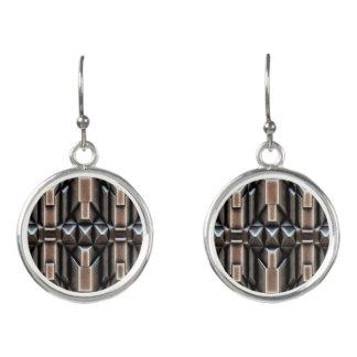 Künstliche Metallblick-Mode-Ohrringe durch Julie Ohrringe