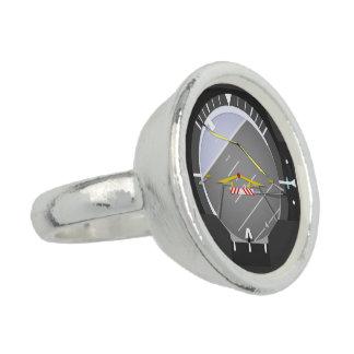 künstlicher Horizont Foto Ring